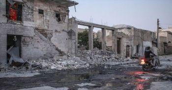 Esad rejiminden İdlib'e yoğun saldırılar