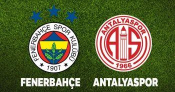 Fenerbahçe Antalyaspor maçı canlı İZLE! F.Bahçe Antalya maçı skor kaç kaç? Beinsports 1 canlı izle