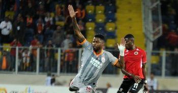Galatasaray ile Gençlerbirliği berabere kaldı