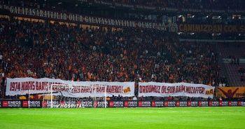 Galatasaray taraftarlarından Barış Pınarı Harekatı'na destek