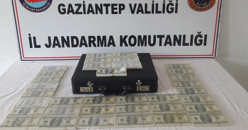 Gaziantep'te piyasaya sahte dolar süren 2 kişi yakalandı
