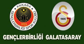 Gençlerbirliği-Galatasaray maçı canlı izle! Gençlerbirliği-Galatasaray maçı canlı skor kaç kaç? Beinsports 1 şifresiz canlı izle