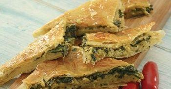Ispanaklı börek nasıl yapılır Ispanaklı börek tarifi, Kolay ıspanaklı börek yapımı, Ispanaklı börek kaç kalori