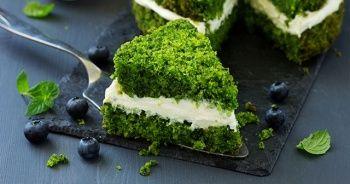Ispanaklı Kek nasıl yapılır, Ispanaklı kek tarifi, kolay ıspanaklı kek yapımı