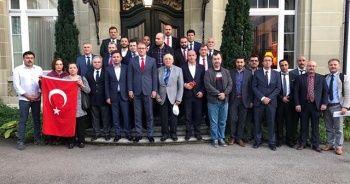 İsviçre'deki Türklerden Barış Pınarı Harekatı'na destek