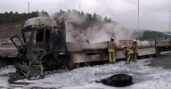 Kuzey Marmara Otoyolu'nda kaza!