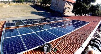 Meslek lisesi yılda 20 bin kilowatt elektrik üretecek