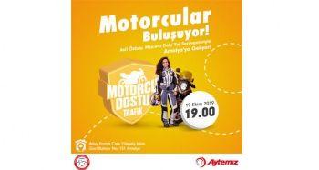 Motorcu Dostu Trafik projesi Antalya'da devam ediyor