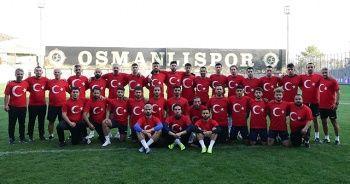 Osmanlıspor'dan Türk ordusuna destek