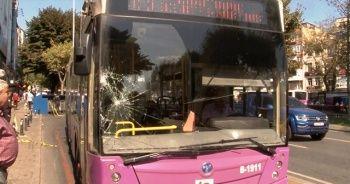 Özel halk otobüsü üniversite öğrencisine çarptı