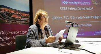 Prof. Dr. Çotuksöken: 'Felsefenin dört duvar arasında kalmasından yana değiliz'
