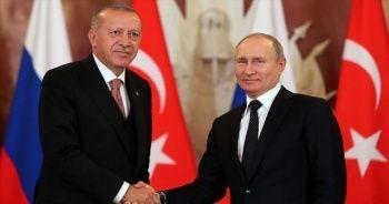 Putin, Cumhurbaşkanı Erdoğan'ı Rusya'ya davet etti