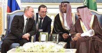 """Putin: """"Orta Doğu'da istikrar için Moskova-Suudi Arabistan ile koordinasyon gerekiyor"""""""