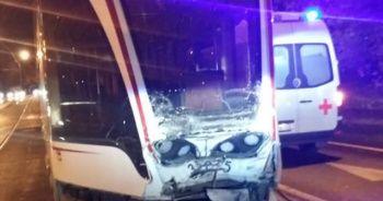 Rusya'da tramvaylar çarpıştı