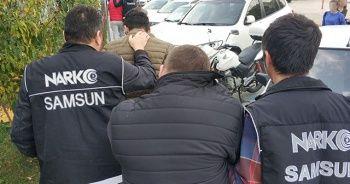 Samsun'da uyuşturucu ticaretinden 4 kişi tutuklandı