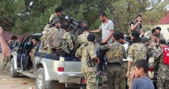 Sınırın ötesine Suriye Milli Ordu askerleri gönderildi