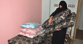 Suriyeli kadının yürek burkan sevinci