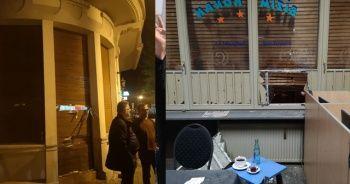 Terör örgütü yandaşları, Almanya'da Türk dükkanlarına saldırdı