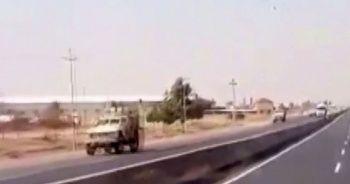 Teröristlerin güvenli bölgeden çekilme işlemi sürüyor