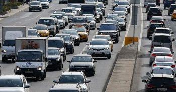 Trafiğe kayıtlı araç sayısı Ağustos'ta 39 bin 110 arttı