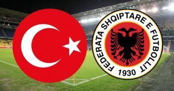 Türkiye - Arnavutluk maçı şifresiz canlı İZLE! Türkiye Arnavutluk maçı canlı skor kaç kaç?