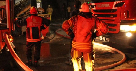 3 yaşındaki çocuk yangında hayatını kaybetti