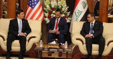 ABD Savunma Bakanı Esper, Iraklı mevkidaşı el-Şummeri ile görüştü