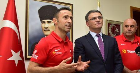 Ampute Futbol Milli Takımı'ndan Barış Pınarı Harekatı'na destek!