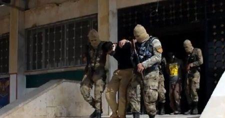 Azez'i kana bulayan PYD'li teröristler yakalandı