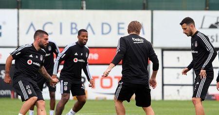 Beşiktaş'ta Braga maçı hazırlıkları sürüyor