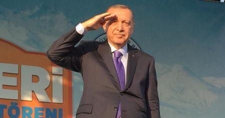 Cumhurbaşkanı Erdoğan'dan asker selamı