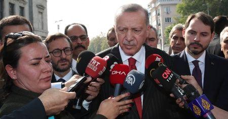 Cumhurbaşkanı Erdoğan: Güvenlik güçlerimiz alanı terk etmeyecek