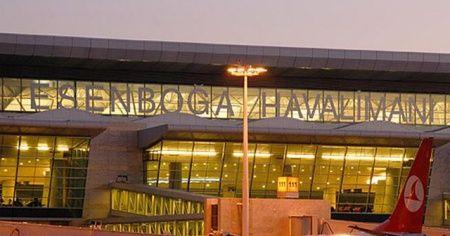 Esenboğa Havalimanı'nda 9 ayda 10,5 milyon yolcuya hizmet verildi