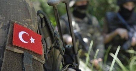 Fırat Kalkanı Harekat Bölgesinde, yaralanan asker şehit düştü