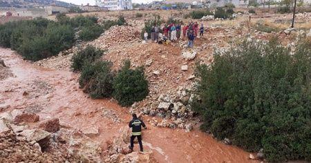 Gaziantep'te şiddetli yağmur sele neden oldu