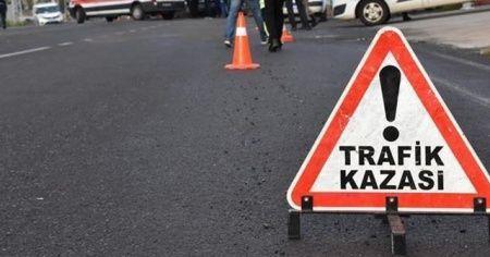 Gümüşhane'de otomobil bariyere çarptı: 5 yaralı
