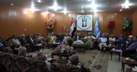 Iraklı Türkmen aşiretlerinden Mehmetçik'e tam destek
