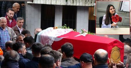 Kanserden ölen İncilay öğretmen son yolculuğuna uğurlandı