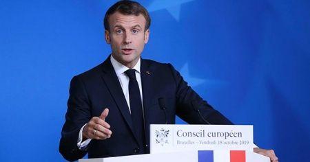 Macron'dan 'yabancı terörist' açıklaması