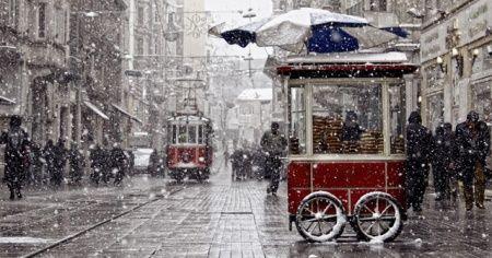 Meteoroloji'den 'İstanbul'da kasımda kar yağışı' iddialarına cevap