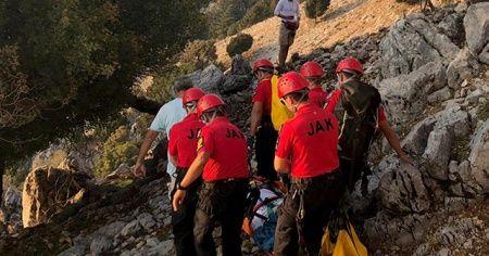Muğla'da paraşüt kazası: 2 yaralı