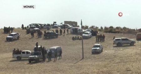 Mümbiç sınırında TSK ve MSO operasyon için hazır bekliyor