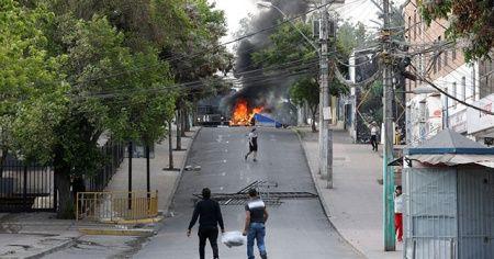 Şili'deki zam karşıtı protestolar