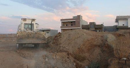 SMO askerleri PKK/YPG'ye ait tünelleri imha ediyor