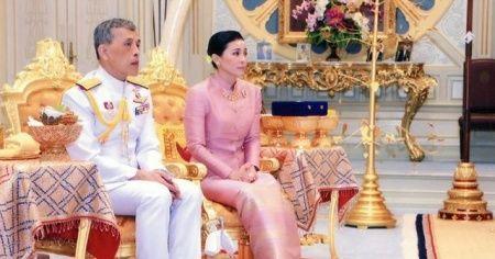 Tayland Kralı, eşinin rütbesi ve unvanını elinden aldı