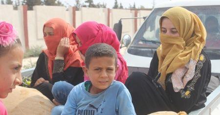 Tel Abyad'da siviller evlerine dönüyor