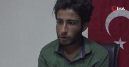 Teslim olan terörist: 'Siz orada savaşanlar, gelin kendinizi Türk devletine teslim edin'