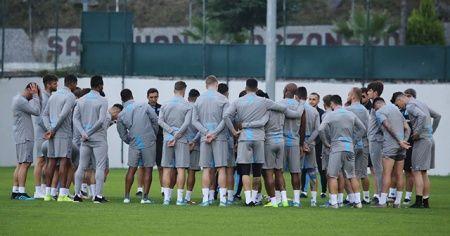Trabzonspor, Krasnodar maçı hazırlıklarını tamamladı