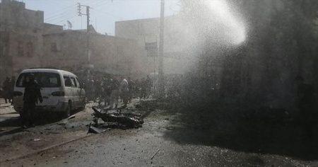 YPG/PKK havanlarla Cerablus'taki çocukları vurdu