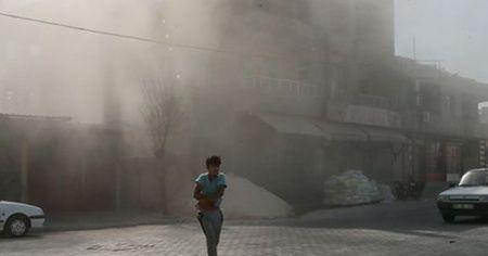 YPG/PKK'lı teröristlerden Ceylanpınar'a havan saldırısı